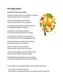 Spanish Poem with Comprehension Questions