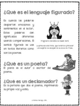 Poesía en Español.  Poetry in Spanish