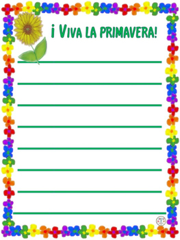 Spanish:Poesía de Primavera