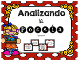 Spanish Poetry Task Cards/ Tarjetas de APRENDIZAJE para poesía