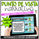 Spanish Point  of view Task Cards (El punto de vista narrativo)