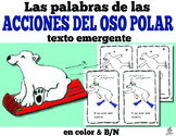 Spanish Emergent Reader: Polar Bear Action Words