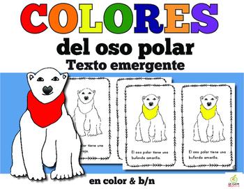 Spanish Emergent Reader: Polar Bear Color Words