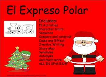 Spanish Polar Express Bundle