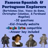 Early Explorers (Dias, Da Gama, Columbus, & Magellan)