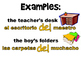 Spanish Possession Using DE Grammar and Practice Powerpoint Bundle