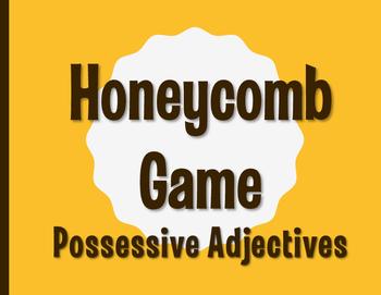 Spanish Possessive Adjective Honeycomb Partner Game
