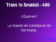 Spanish Possessive Adjective Jeopardy-Style Review Game