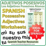 Spanish Possessive Adjectives - Adjetivos Posesivos