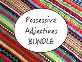 Spanish Possessive Adjectives BUNDLE- PowerPoint, Workshee