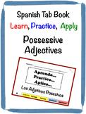 Spanish Possessive Adjectives Tab Book