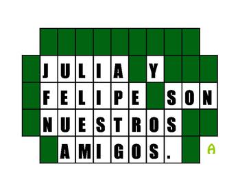 Spanish Possessive Adjective Wheel of Spanish