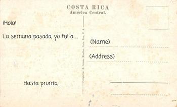 Spanish Postcard Template