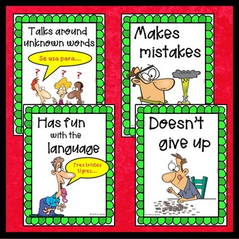 Spanish Posters:  A Super Language Learner