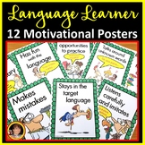 Spanish Classroom Decor - Motivational Posters and Worksheets