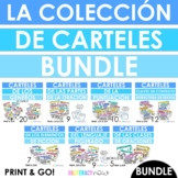Spanish Posters for Reading Writing and Grammar 72 Poster BUNDLE