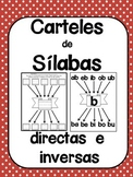 Spanish Posters for Syllables - Cartelones para las silabas