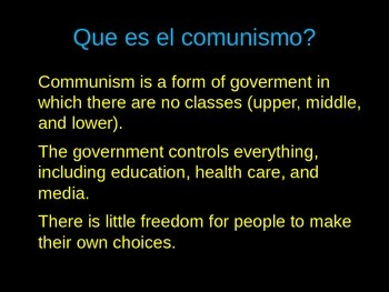 Spanish PowerPoint: Cuba