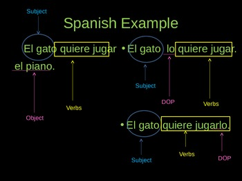 Spanish PowerPoint: Direct Object Pronouns