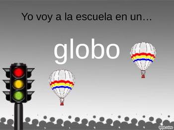 Spanish PowerPoint: Transportation