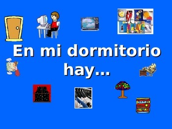 Spanish Teaching Resources. PowerPoint Presentation of Bed
