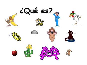 Spanish Teaching Resources: Colours & Adjectives To Describe Pets/ Animals.
