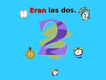 Spanish Teaching Resources. PowerPoint:  Imperfect Tense: Descriptions & Time.