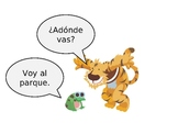 "Spanish  PowerPoint to Contextually Teach ""Adonde vas?"" and ""Voy a..."""