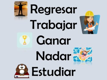Spanish PowerPoint with AR, ER, & IR Regular Present Tense Verbs