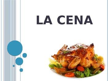 Spanish - Powerpoint - Dinner Food