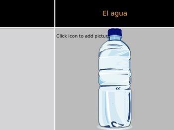 Spanish - Powerpoint - Drinks