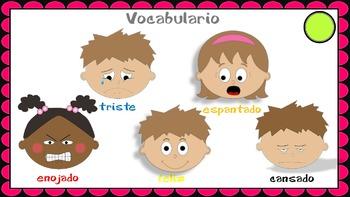 Spanish Powerpoint - Emotiones - Como estas