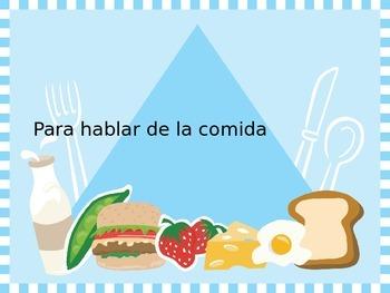 Spanish - Powerpoint - Food Descriptions