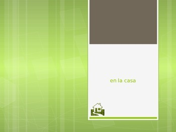 Spanish - Powerpoint - House Items Furniture