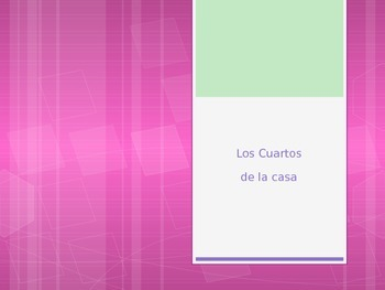 Spanish - Powerpoint - House Rooms