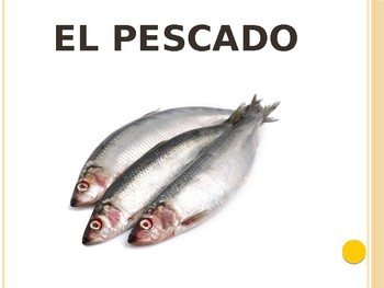 Spanish - Powerpoint - Meat Foods