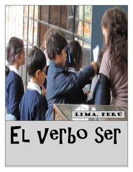 Spanish Practice Worksheets for the verb SER