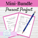 Spanish Present Perfect Notes Interview and Practice Activities Mini Bundle