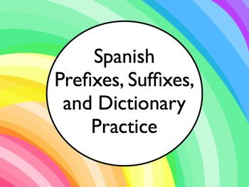prefix and suffix dictionary pdf