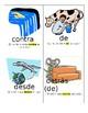 Spanish Preposition Cards