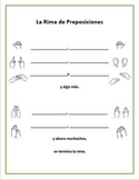 Spanish Prepositions Chant with Hand Motions