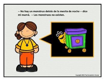 Spanish Prepositions Story - El monstruo
