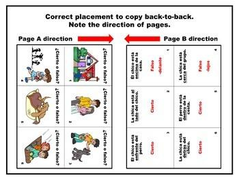 Spanish Prepositions Flashcards True_False