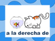 Spanish Prepositions Presentation, Flashcards, Gamecards, Posters