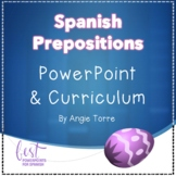 Spanish Prepositions of Place PowerPoint and Curriculum Distance Learning