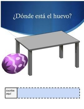Spanish Prepositions PowerPoint, Interactive Notebook & Google Drive Activities