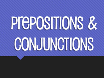 Spanish Prepositions and Conjunctions