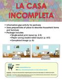 Spanish Prepositions of Place Communicative Activity - La