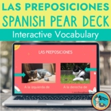 Spanish Prepositions of Place Pear Deck Lesson