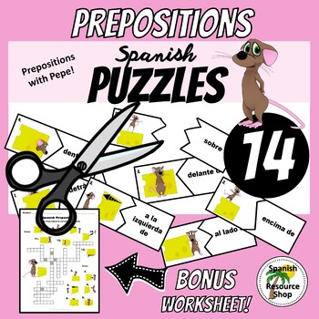 Spanish Prepositions with Pepe Super Value Bundle